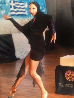 Marzia Scipioni inizia a danzare all'età di 5 anni, praticando per 8 anni danza classica, moderna e flamenco. Dal 2005 si accosta alle danze latino americane che pratica tutt'ora. Durante la sua carriera agonistica nel 2011 vince in circuito di coppa Italia e si classifica al terzo posto ai campionati italiani di categoria, ottenendo il passaggio per merito nella classe A. Nel 2015 conquista il suo primo risultato importante in campo internazionale rientrando nelle prime 24 coppie al mondo nel world open di Parigi . Nel 2017 si distacca dalle danze di coppia e intraprende il percorso come solista nel latin show dove conquista la finale sia al mondiale 2017 che al mondiale 2018. La sua carriera agonistica è ancora in corso ed ora si sta preparando per i mondiali 2019. Durante tutto il suo percorso è stata seguita dai migliori maestri nazionali ed internazionali.